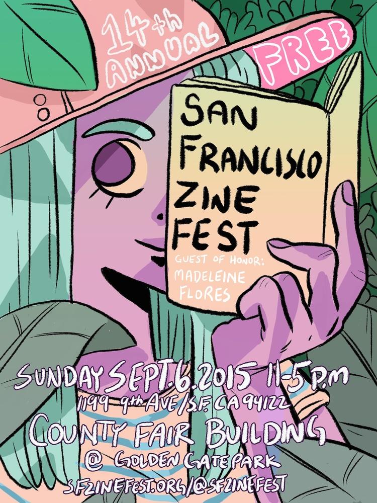 SFzine2015 poster