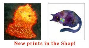 Solar System Cats Print promo